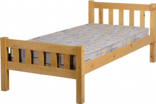Carlow 3ft Antique Pine Bed Frame
